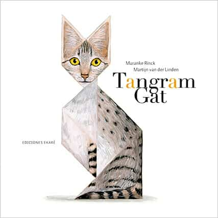 Resultat d'imatges de Tangram Gat